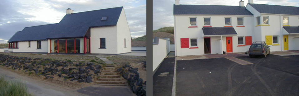 tracey architects derry | chalet housing at magilligan point co derry