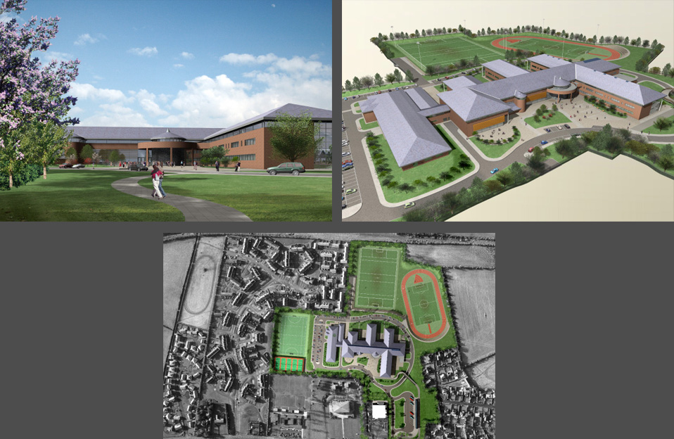 tracey architects derry | holy cross college strabane