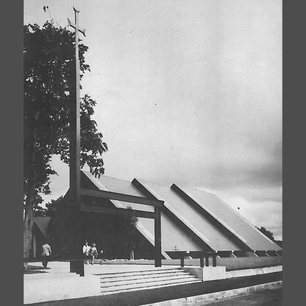tracey architects derry   our lady of lourdes steelstown