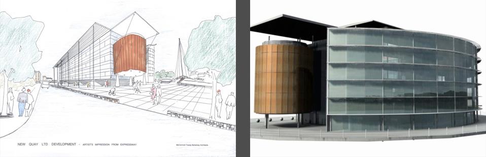 tracey architects derry | riverside regeneration derry