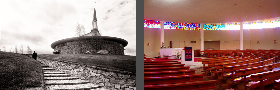 tracey architects derry | st aenghus church burt co donegal