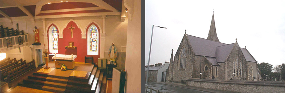 St Joseph's Church, Craigbane, Co Derry & St Patrick's Church, Castlederg