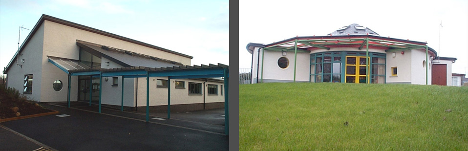 tracey architects derry | st patricks primary school castlederg