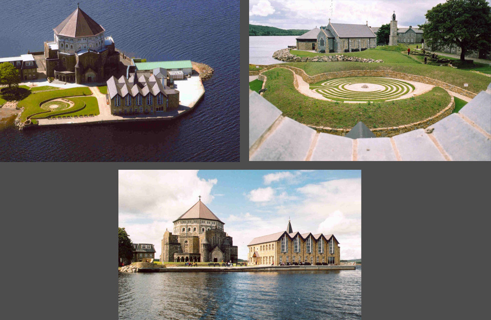 tracey architects derry | st patricks purgatory station island lough derg