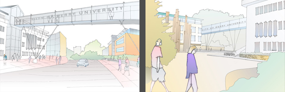 tracey architects derry | u4d concept university